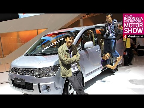 First impression review Mitsubishi Delica dari Indonesia Motor Show 2014