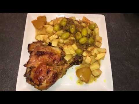 recette-de-poulet-aux-olives