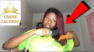 My sister tried to slay chinalacewig