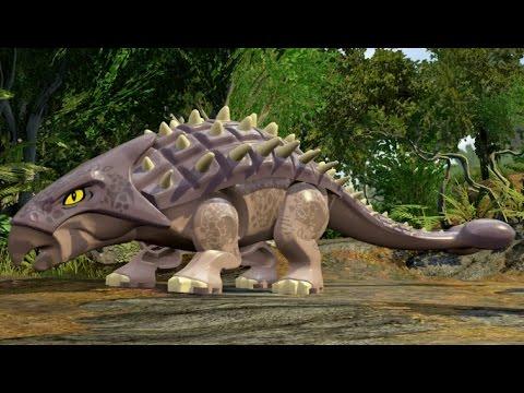 LEGO Jurassic World - Jurassic Park 3 Hub 100% Guide #2 - Ankylosaurus Territory & Isla Sorna Aviary