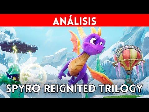 ANÁLISIS SPYRO REIGNITED TRILOGY 4K PS4 Xbox One -  Gran REMAKE de 3 juegazos de Spyro the Dragon