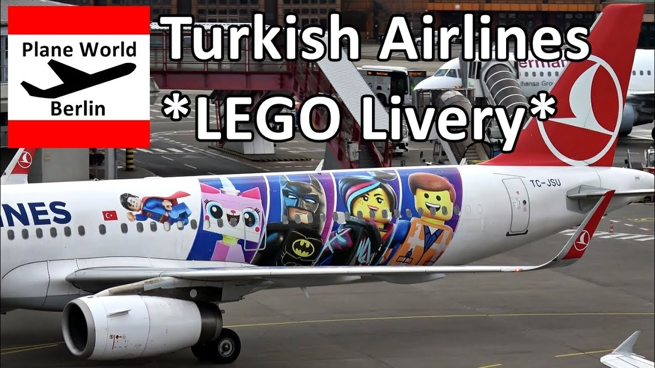 Turkish Airlines Airbus A321 *LEGO livery* in Berlin Tegel Airport