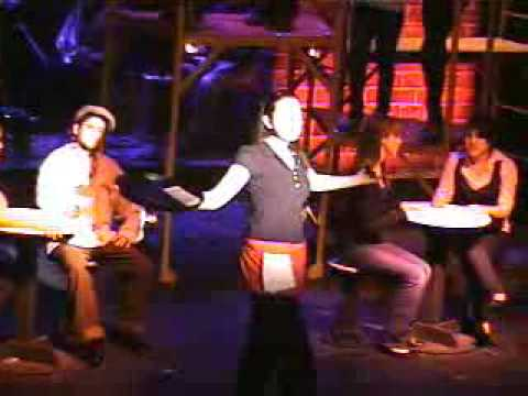 It's an Art [The Waitress] -- Working the Musical at NMHS [March 2009]