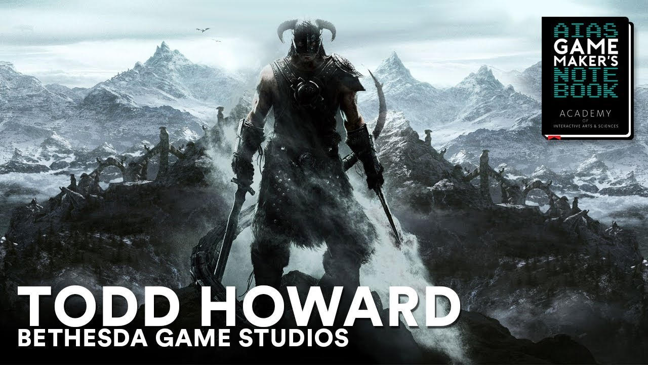 Download Todd Howard of Bethesda Game Studios - The AIAS Game Maker's Notebook
