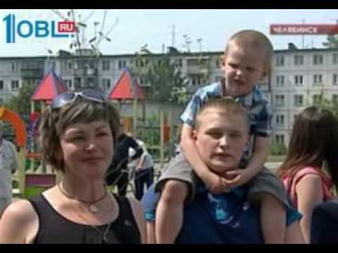 В Челябинске появился первый на Урале дом образцового содержания. 06.07.2016