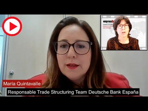 Entrevista  María Quintavalle, Trade Structuring Team de Deutsche Bank España