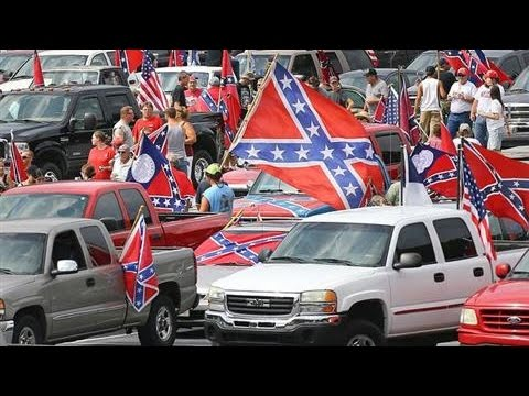 Confederate Flag Supporters Rally in Georgia