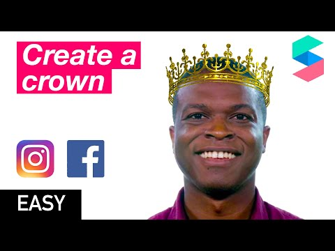 Create A 3d Crown In Spark AR - Tutorial And Materials