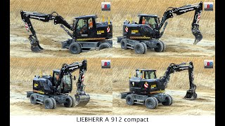 LIEBHERR A 912 compact Azubi Bagger / Educational Excavator, Leonhard Weiss, Germany, 2019.