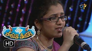 Vrepalle Vechenu Song - Priya Performance in ETV Padutha Theeyaga - 25th July 2016