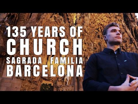 EPIC Gaudi Church: Sagrada Familia, 135+ Years to Build - Barcelona, Spain | Destination Jackson