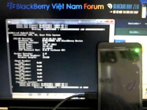 Hướng dẫn cài ROM BlackBerry Z10
