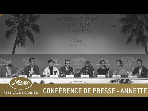 ANNETTE - CONFERENCE DE PRESSE - CANNES 2021 - VF