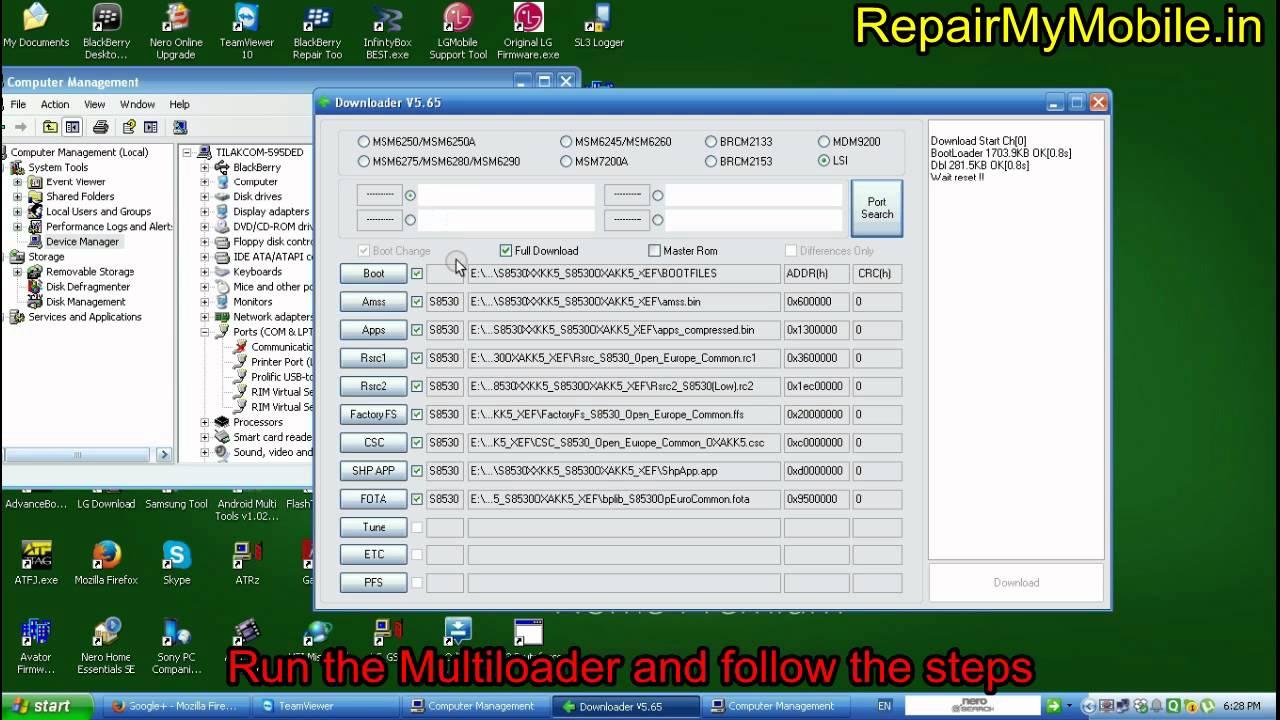 download samsung repair firmware full flash