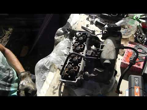 сборка гбц и  ремонт двигателя ДЕУ Эсперо пробило прокладку гбц дома своими руками часть .2