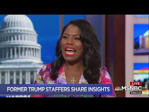 Disgraced former Trump staffers Scaramucci and Omarosa discuss the president's 'mental decline'