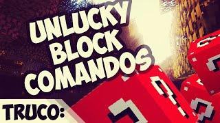 Comandos - Unlucky Blocks - Vanilla 1.8 Minecraft