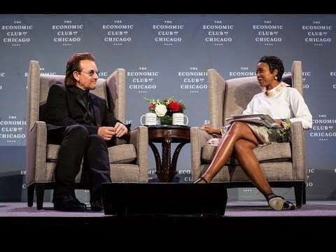 The Economic Club of Chicago Second Dinner Meeting with Bono