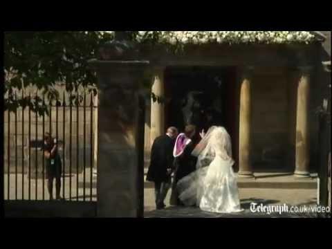 Royals arrive for Zara Phillips' wedding