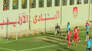 ستاد بلدنا   الشوط التاني مباراة الاوليمبي & غزل المحلة