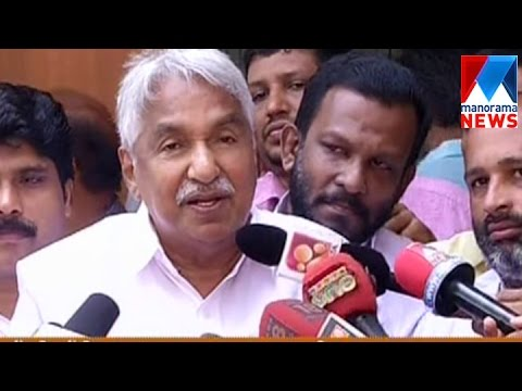 Kerala congress action in Kottayam cant be forgivable says Oommen Chandy | Manorama News