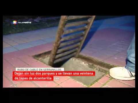 Investigan el robo de cable en Serranillos del Valle