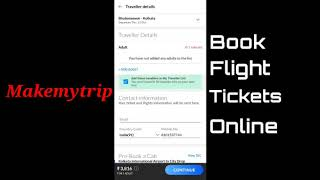 Mobile App Tutorial: How to use MakeMyTrip Application to plan your travel? screenshot 3