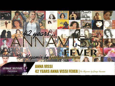Anna Vissi - 42 Years VISSI Fever | The Megamix 1973 - 2015 [NON STOP]