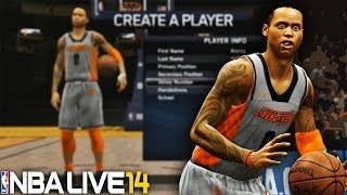 NBA Live 14 Rising Star PS4 #1 - Creation & Rookie Draft Showcase Ft Kenny Woods