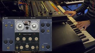 AudioThing Wires + Wurlitzer 200A + Roland TR808