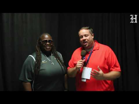 2016 Dolphins High School Media Day - Jackson coach Bernice Brunson
