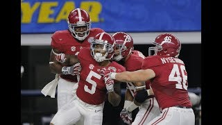 Alabama's Top 5 CFB Playoff Moments