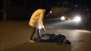 Ghost prank gone wrong almost died