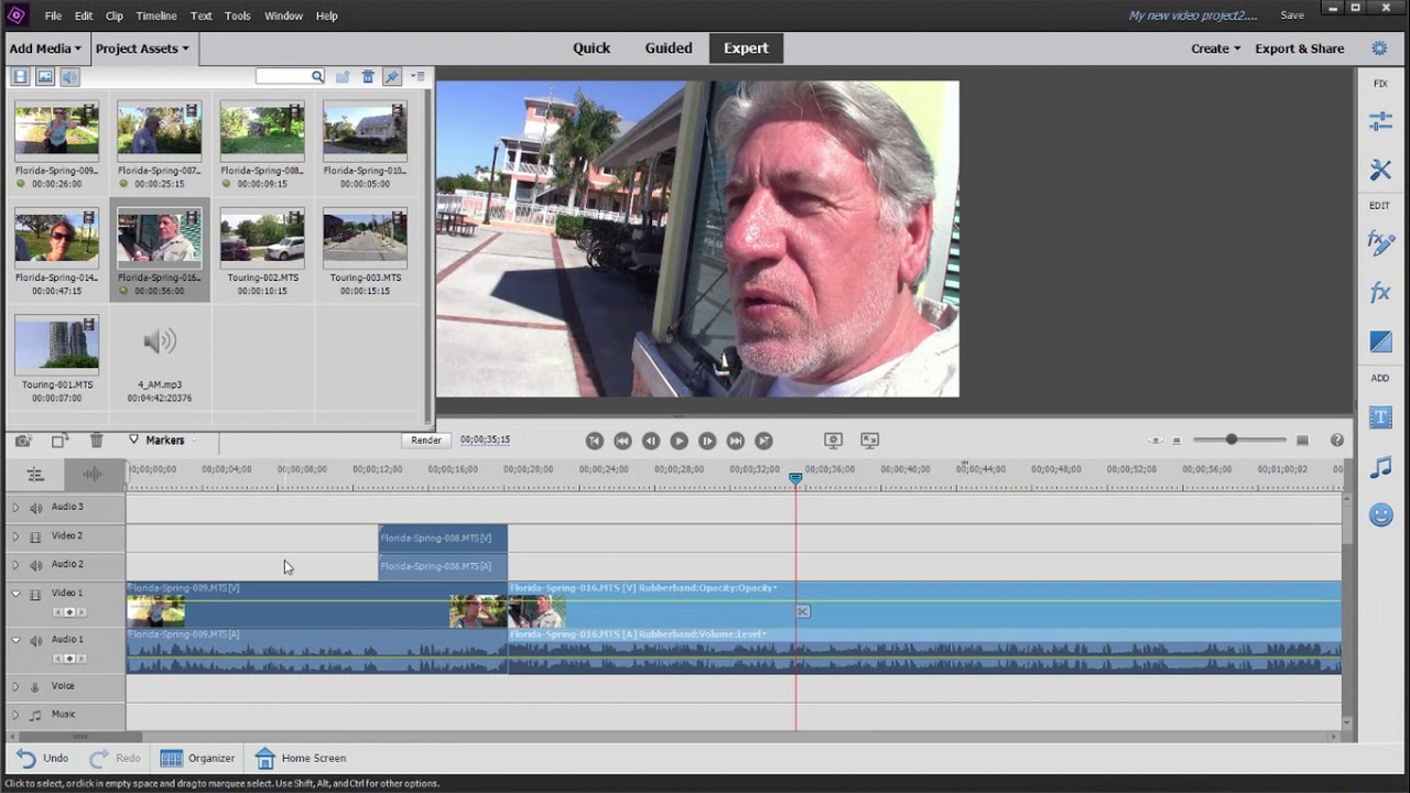Adobe Premiere Elements 2020 Review.Basic Training For Premiere Elements 2020 Part 3 Of 8