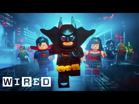 How They Animated 'The Lego Batman Movie' | Design FX | WIRED