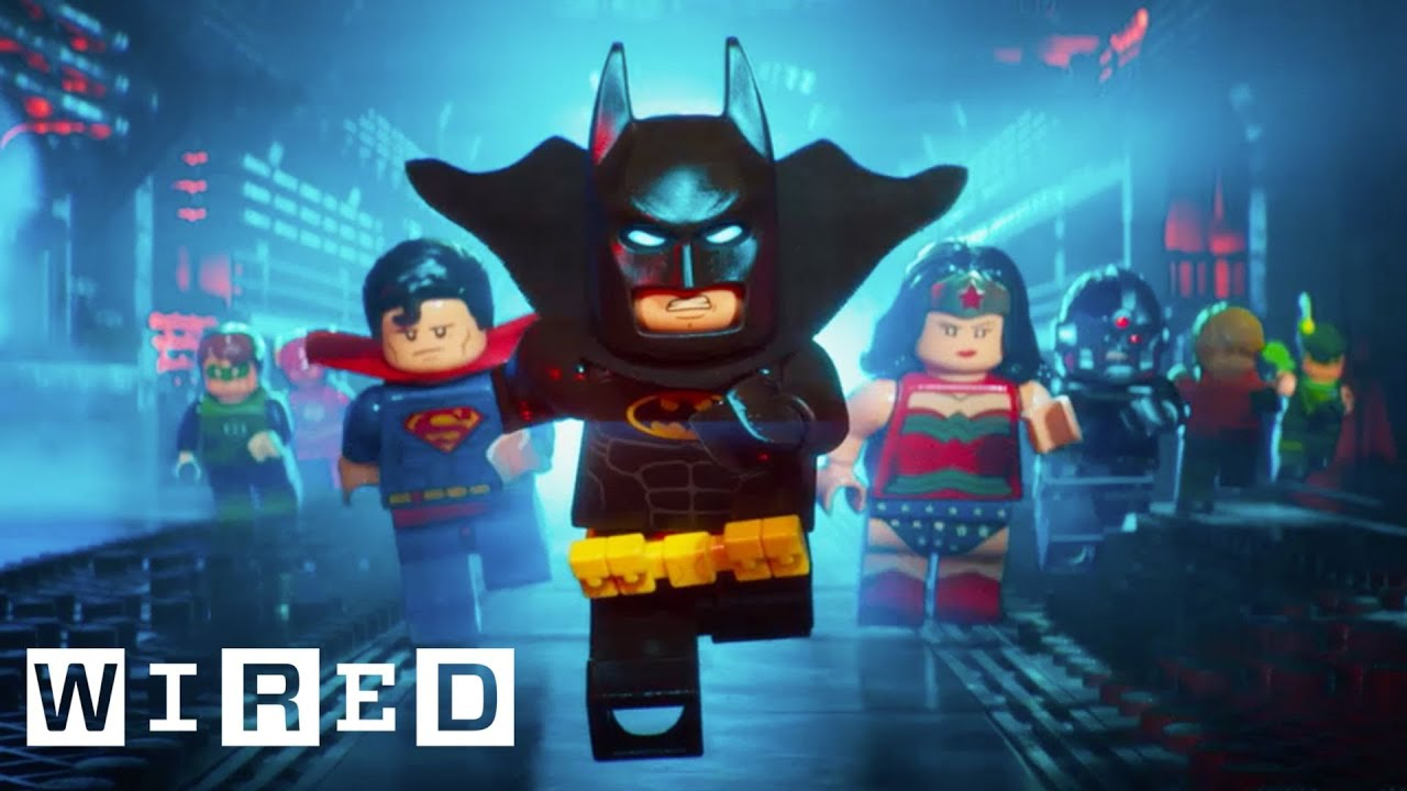How They Animated \'The Lego Batman Movie\' | Design FX | WIRED - YouTube