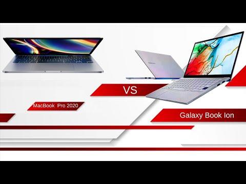 """Galaxy Book Ion 13"""" Vs 2020 13.3"""" MacBook Pro"""