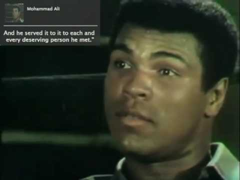 Mohammad Ali's Life Recipe - How he wanted to be remembered
