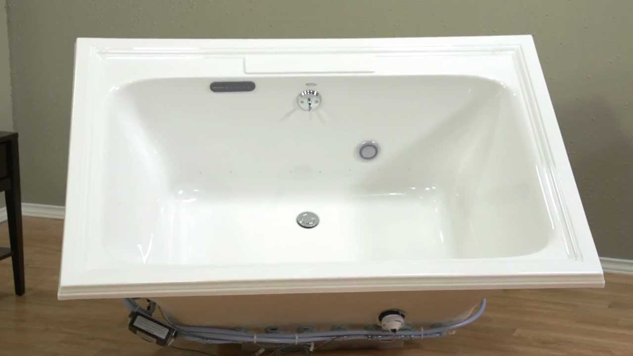 Air Baths: Town Square EverClean Air Bath by American Standard - YouTube