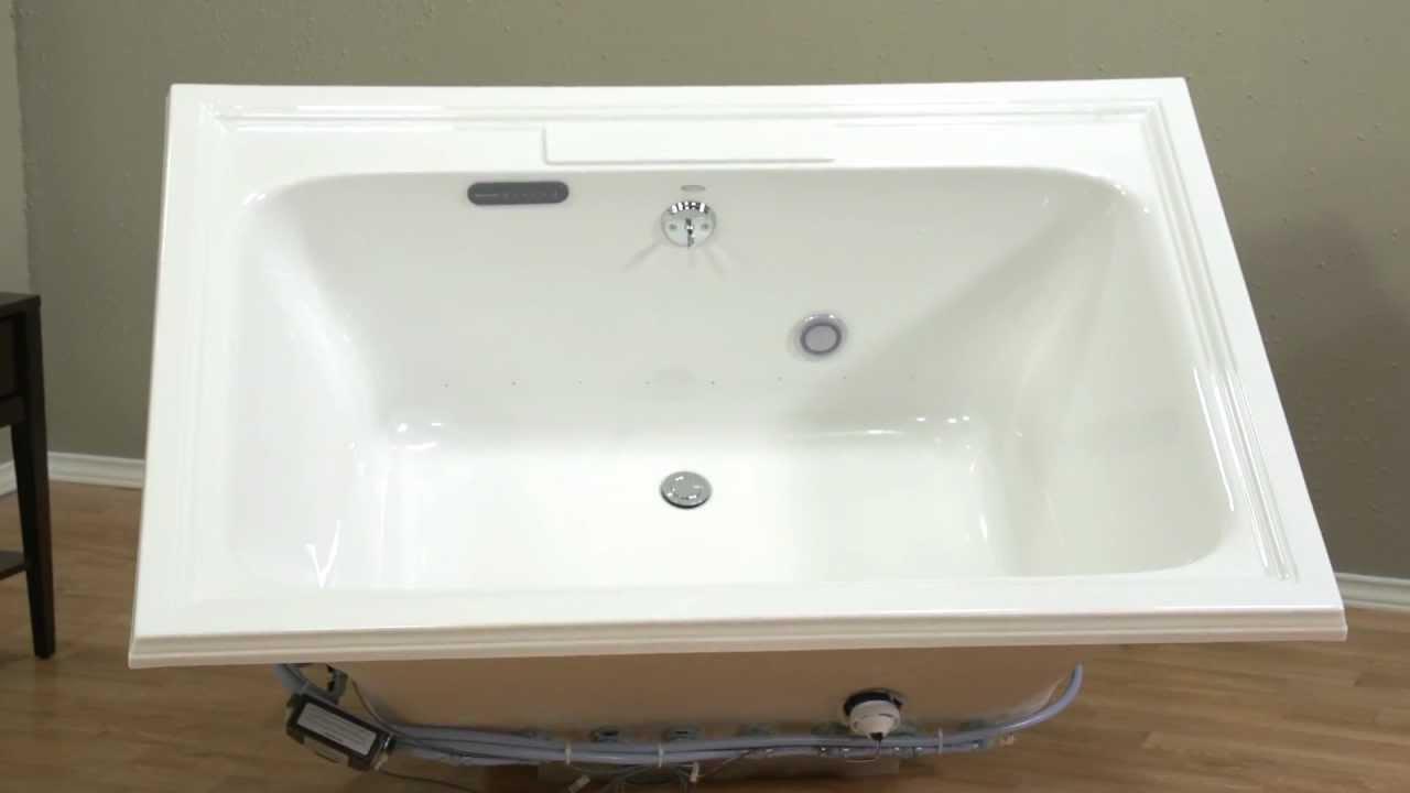 Air Baths: Town Square EverClean Air Bath by American Standard - YouTube