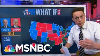 Steve Kornacki: If Trump Loses These States Early, 'It Could Be It For Him' | MSNBC