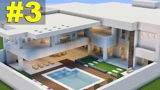 Minecraft Tutorial: Casa Moderna (7) parte 3