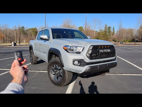 2021 Toyota Tacoma TRD Off Road: Start Up, Walkaround, Test Drive and Review