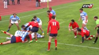 Gran Final Sudamérica Rugby Cup: Chile 12-87 Argentina