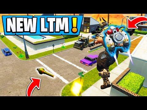 *NEW* Fortnite Fly Explosives LTM! | JETPACK Mode Gameplay!