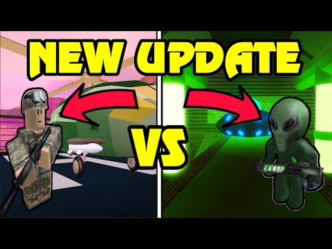 🔴 JAILBREAK ALIEN INVASION UPDATE!? | MILITARY VS ALIENS! | NEW Area 51  Military Base | Roblox Live