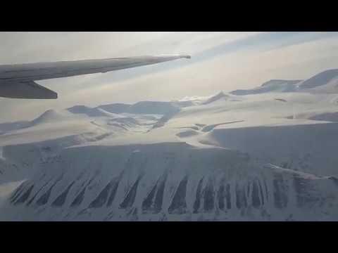 Departure from Longyearbyen airport, Svalbard (ENSB)