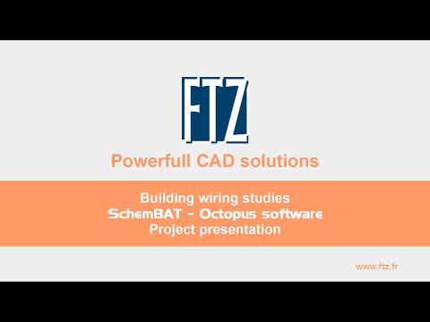 FTZ - CAD software - Building wiring - SchemBAT