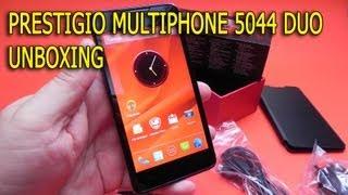 Prestigio MultiPhone 5044 DUO unboxing - Mobilissimo.ro
