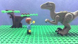 Velociraptor Pet Commercial | LEGO Stop Motion | Alpha Jer Studios
